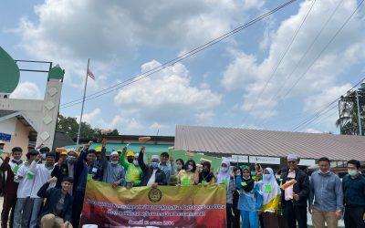 เยาวชนสานใจไทย และผู้เข้าร่วมโครงการฮัจญ์ ศอ.บต. ร่วมทำกิจกรรมจิตอาสาตอบแทนคุณแผ่นดิน เป็นมือบนช่วยเหลือสังคม
