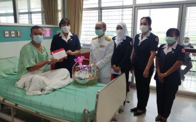 นย์ปฎิบัติการช่วยเหลือเยียวยาฯ อำเภอสุไหงปาดี มอบเงินช่วยเหลือเยียวยาผู้ได้รับผลกระทบจากสถานการณ์ความไม่สงบในจังหวัดชายแดนภาคใต้  ณ โรงพยาบาลสุไหงโก-ลก